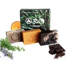 Kit Universo Jabones Romero/menta, Naranja, Choco - Organico