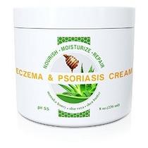 Salvaje Naturals Eczema Y Psoriasis Crema Con Miel De Manuka
