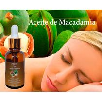 Aceite De Macadamia Prensado En Frio 100% Puro