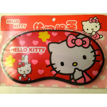 Antifaz/máscara Dormir/sueño Satinado Hello Kitty Kawaii