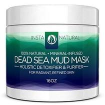 Barro Del Mar Muerto Mascarilla Facial - Piel Limpiador Poro