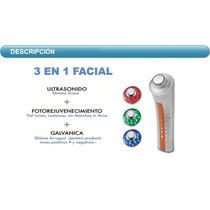 Ultra Sonido Facial Portatil 3 Mz Con Galvanic Y Foton