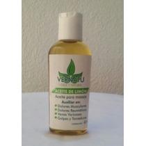 Aceite De Limon 60 Ml (masajes Y Dolores Musculares)