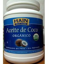 Aceite De Coco Organico Prensado En Frio 1.5 L