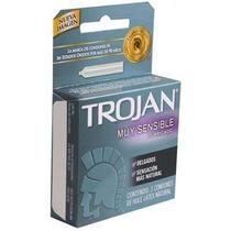 Trojan Trojan Muy Sensible Lubricado Sensitivos Caballero