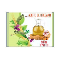 Aceite De Oregano 50 Ml $240.00