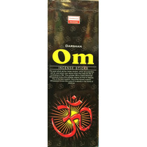 Caja De 6 Tubos De Incienso Darshan Om.