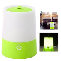 Humidificador Mini Recargable Usb Con Luz Nocturna