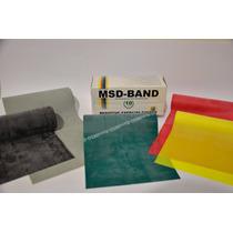 Banda Elástica Rehabilitación, Fortalecimiento 1.83mts X15cm