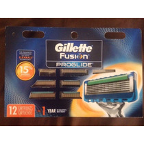 Gillette Fusion Proglide Manual Razor Cartucho Genuino