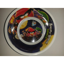 Plato Hondo Tazon Angry Birds Space Espacio