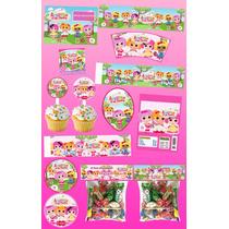 Kit Imprimible Lalaloopsy Personalizado 30 Etiquetas