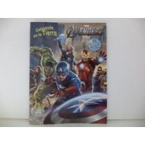 Avengers Fiestas 10 Libros Colorear Recuerdos Premio Aguinal