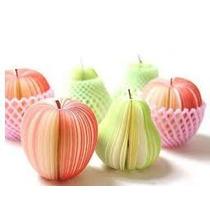 Recuerdo Bloc De Notas Frutas 10 Piezas Tipo Post It Oficina