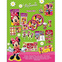 Vasos Platos Bolsas Todo Para Fiesta Minnie Mouse Mimí