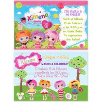 Invitaciones Lalaloopsy Kit Imprimible Etiquetas