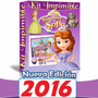 Gran Kit Imprimible Princesa Sofia 100% Editable Para Fiesta