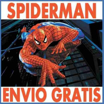 Kit Imprimible Spiderman Hombre Araña Candy Bar Cumples