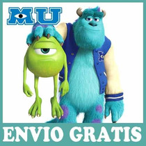2x1 Kit Imprimible Monsters University Candy Personalizado