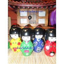 Figura De Ceramica!!! Muñeca Japonesa 12 Cm Oferta Promocion