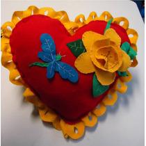 Cojin De Corazon, 14 De Febrero, Para Mamá, Aniversario Daa