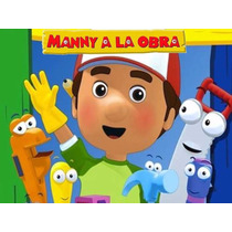 Kit Imprimible 2x1 Manny A La Obra Candy Bar Cotillon Handy