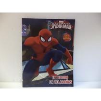 Spider-man Fiestas 10 Libros Colorear Recuerdos Premio 16 P