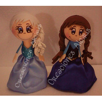 Mini Fofucha Recuerdo Fiesta Disney Frozen