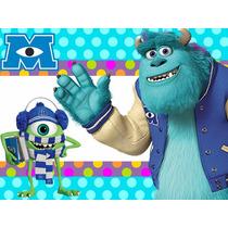 Kit Imprimible Monsters University Candy Bar Tarjetas Y Mas