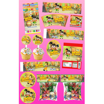 Kit Imprimible La Chilindrina Personalizado 30 Etiquetas