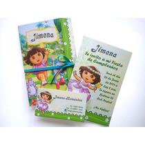 Dora Invitacion Personalizada Y Mas Modelos. Imprimible Hm4