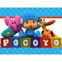 Kit Imprimible Pocoyo Candy Bar Tarjetas Y Mas