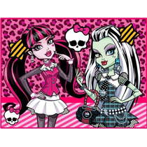 Kit Imprimible Monster High Candy Bar Tarjetas Y Mas