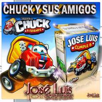 Kit Imprimible 100% Editable Chuck Y Sus Amigos Jose Luis