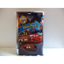 Cars Fiestas 10 Libros Colorear Con 4 Colores Y Stikers Bolo