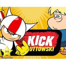2x1 Kit Imprimible Doble De Riesgo Kick Buttowski Cumples Y