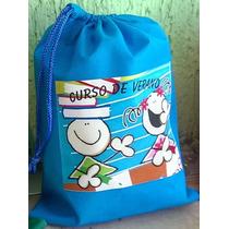 Morralitos Bolsa De 20x15 Para Dulce Aguinaldos Lapicera