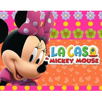 Kit Imprimible Minnie Rosa De La Casa De Mickey Mouse #2