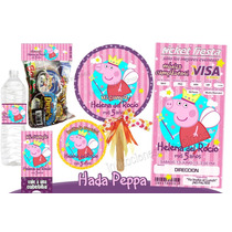 Invitaciones Peppa Pig Kit Imprimible Personalizado