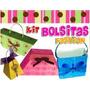 Kit Imprimible Bolsitas Fashion Para Souvenir O Invitaciones