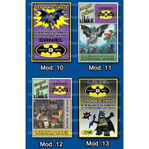Kit Imprimible Invitaciones Cumpleaños Batman Fiesta
