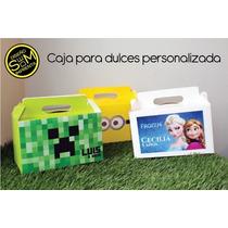 Caja Dulces Piñata Personalizada