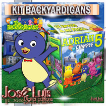 Backyardigans Invitaciones Carteles Kit Imprimible Jose Luis