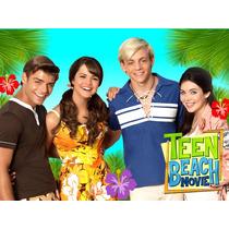 Kit Imprimible Teen Beach Movie Diseña Tarjetas Cumples Mas