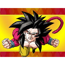 Kit Imprimible Dragon Ball Diseñá Tarjetas , Cumples Y Mas