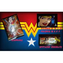Servilleta Tortillas Fiesta Superheroes Y Mujermaravilla Mmu