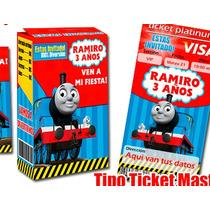 Thomas El Tren Y Sus Amigos Invitaciones Etiquetas Y Mas!