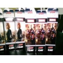 10 Dulceros Caja De Carton Personalizada Avengers Era Ultron