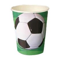 Juego De Platos Y Vasos De Fiesta Temática De Fútbol