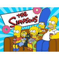 Kit Imprimible Los Simpson Diseña Tarjetas Y Mas